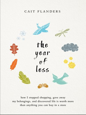 cover image of The Year of Less